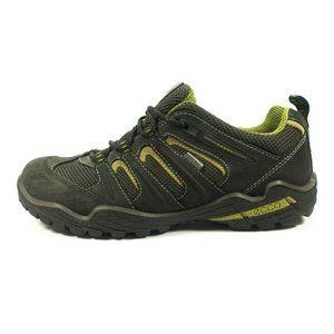 Ecco Gore-Tex Waterproof Yak Leather Hiking Shoes